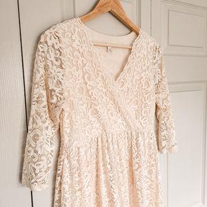 Lace Pinkblush dress